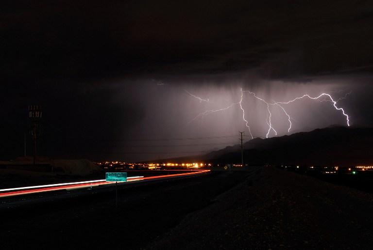 В одном из штатов Австралии за сутки зафиксировано 170 тысяч ударов молний
