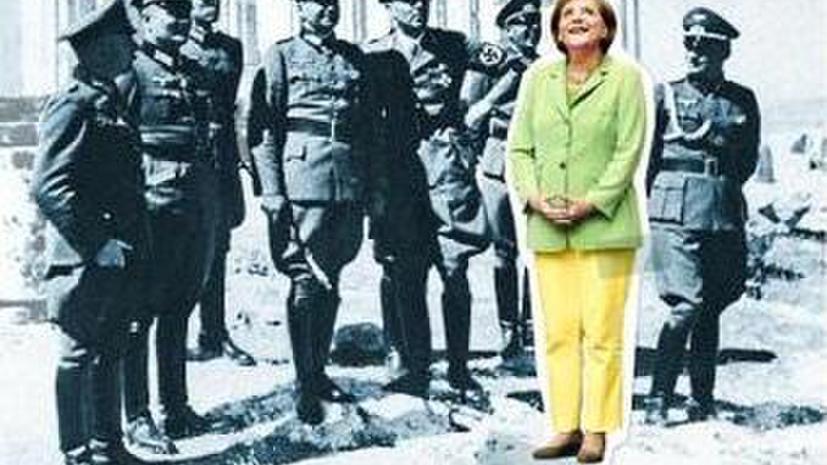 Фотография Меркель в окружении нацистов на обложке Spiegel удивила другие немецкие СМИ