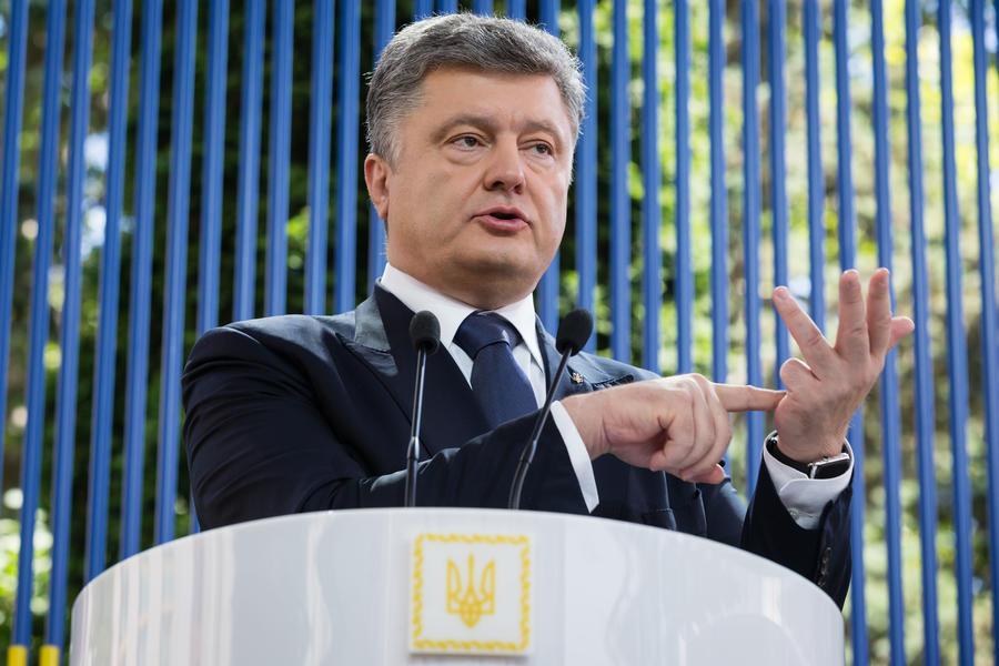 Пётр Порошенко сообщил о расширении списка россиян, попадающих под украинские санкции