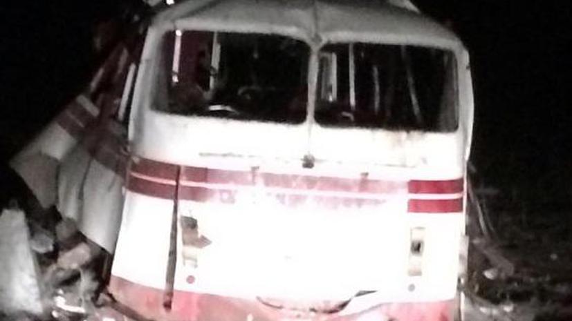 Следователи выясняют обстоятельства подрыва пассажирского автобуса в Донбассе