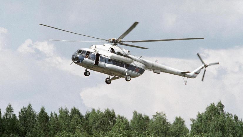 В Якутии совершил жёсткую посадку вертолёт Ми-8