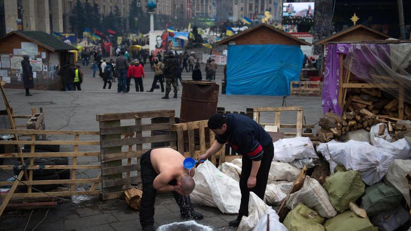 Митингующие на Украине передали властям административные здания и разблокировали улицы