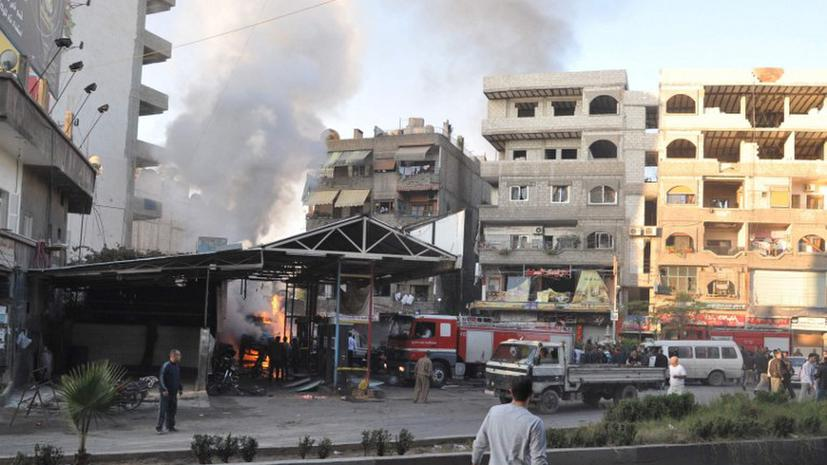 30 человек погибли при обстреле школы в Сирии