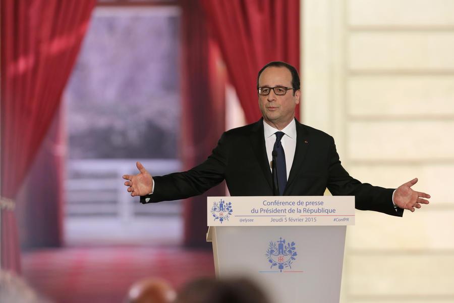 Франсуа Олланд предлагает предоставить больше автономии восточным регионам Украины