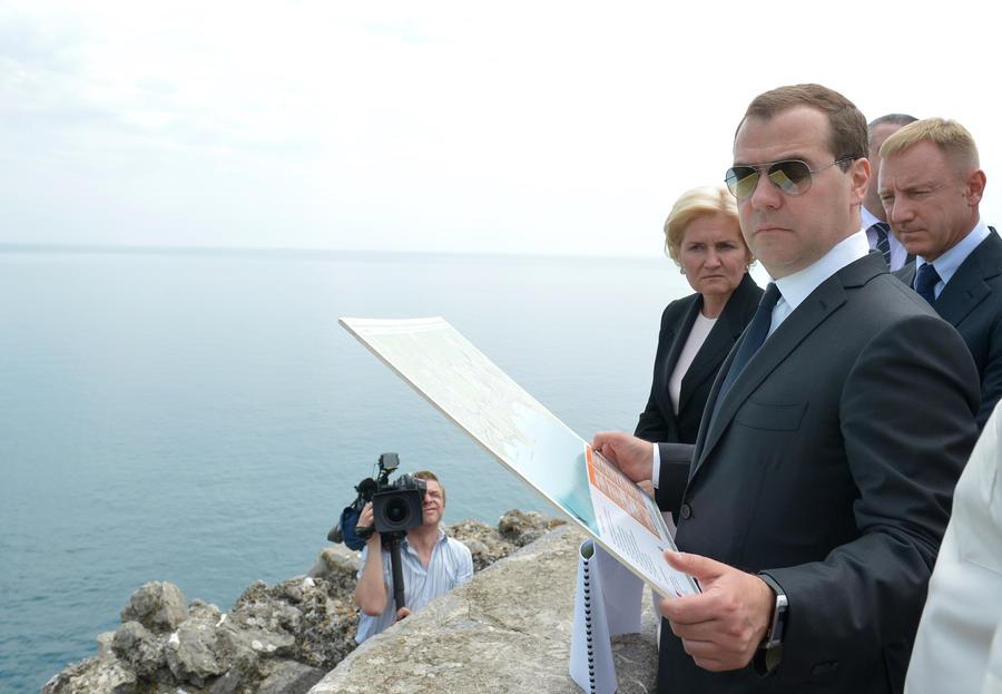 Дмитрий Медведев: Перекрытие Северо-Крымского канала — недружественый и политизированный шаг Украины