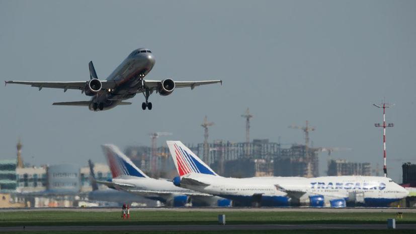 СМИ: В Краснодаре самолёт совершил посадку из-за отказа украинских диспетчеров его пропустить