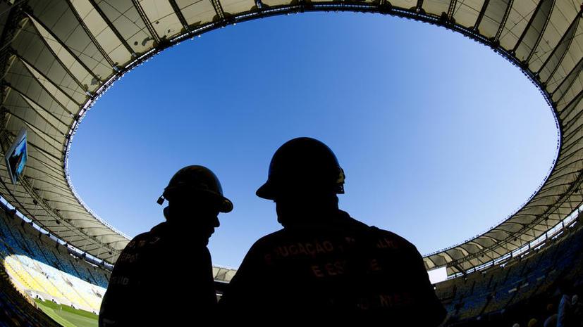 В Бразилии обрушилась крыша стадиона, построенного для ЧМ-2014