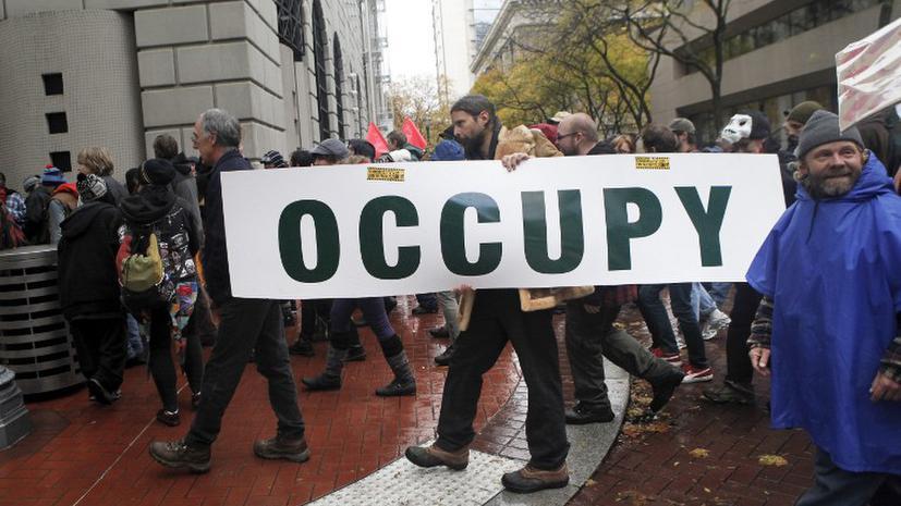 Полиция разогнала акцию Occupy в Портленде