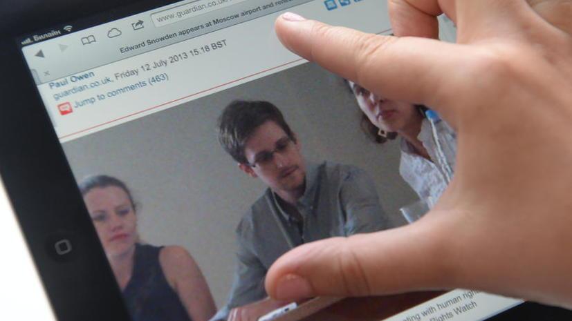 Сноуден готов выступить перед комиссией Европарламента по видеосвязи