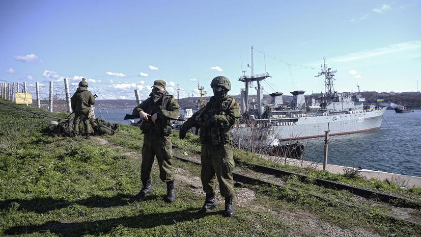 Власти Крыма намерены национализировать украинский флот