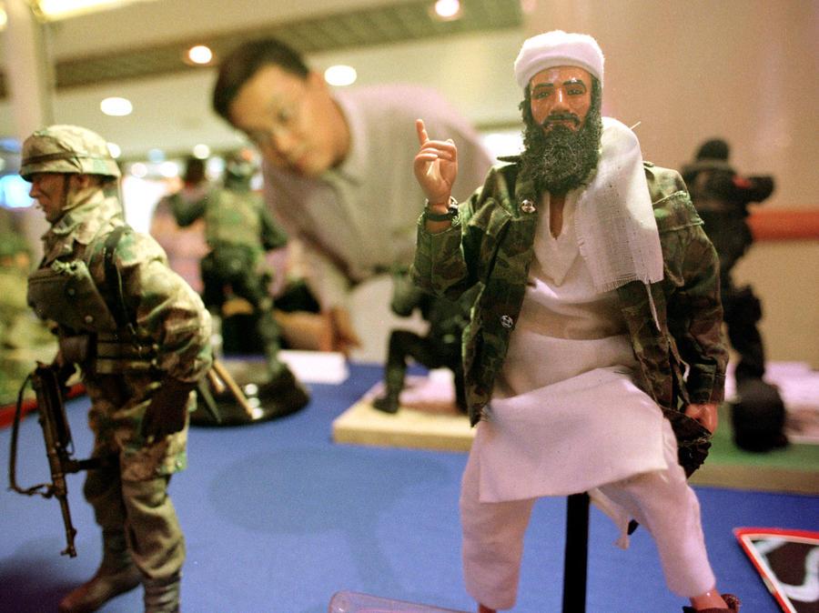 ЦРУ «клонировало» бен Ладена, заказав в Китае его игрушечные копии в образе дьявола