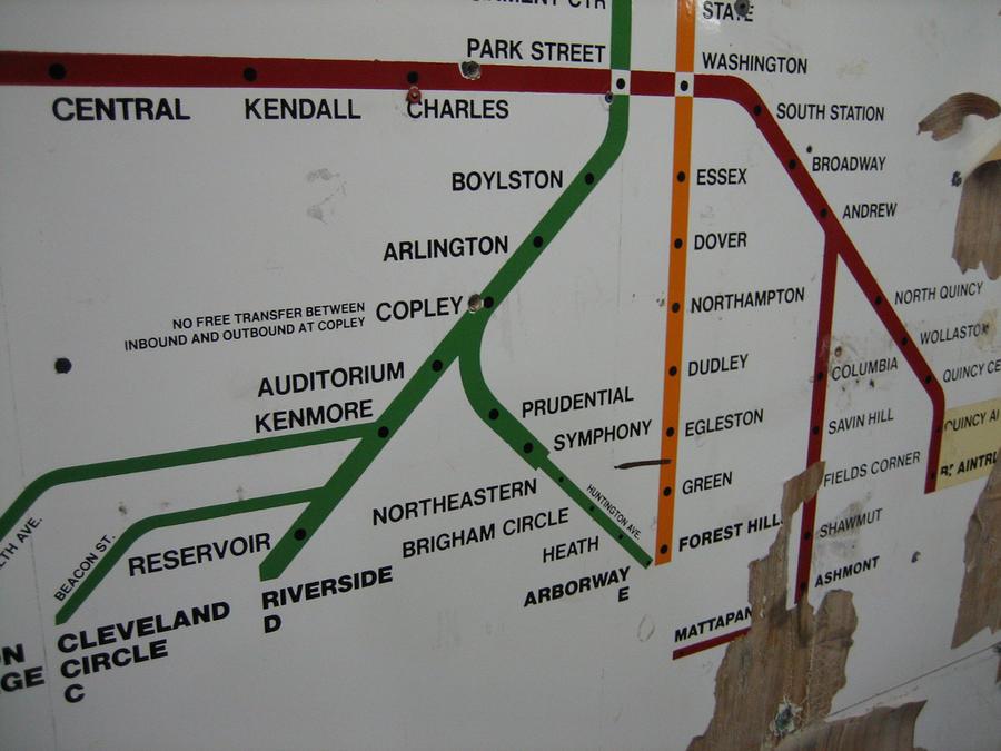 Россиянин нарисовал бостонское метро лучше американцев