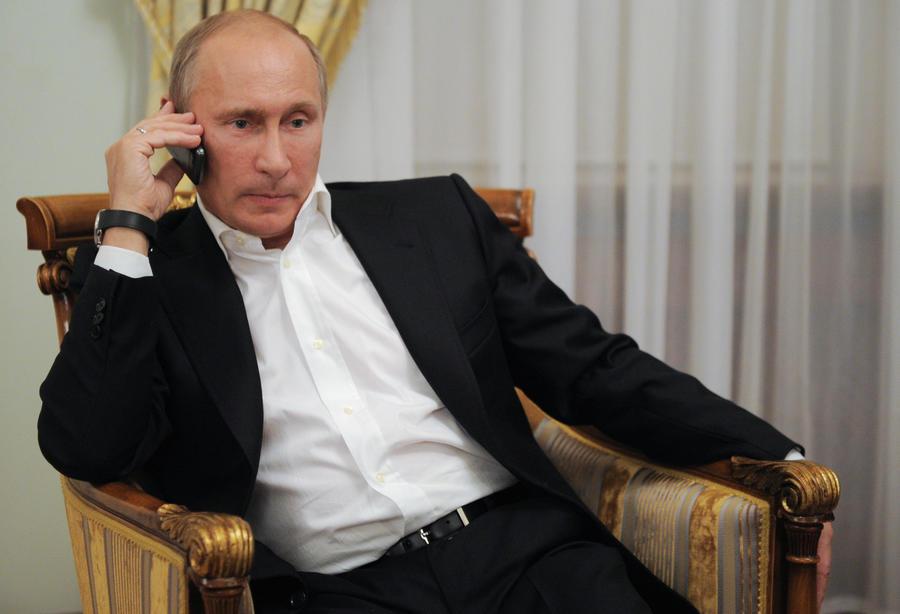 Владимир Путин и Барак Обама в телефонном разговоре обсудили соглашение по ядерной программе Ирана