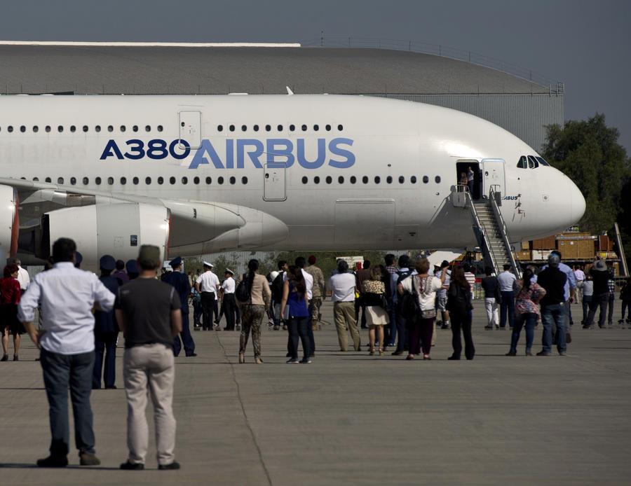 Европейский концерн Airbus может пострадать из-за санкций Запада в отношении России