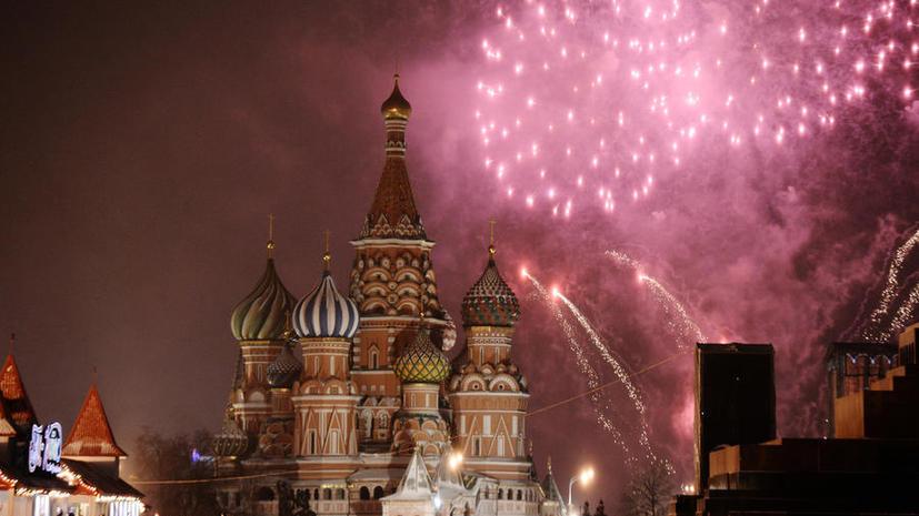 Вход на Красную площадь в Москве в новогоднюю ночь будет ограничен