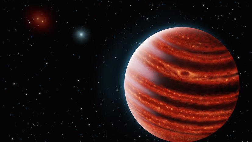 «Молодой Юпитер» в созвездии Эридана может дать ключ к пониманию Солнечной системы