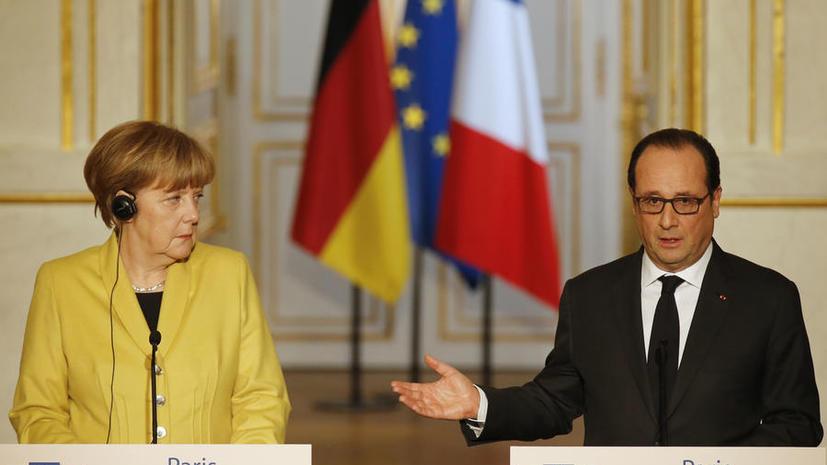 Франсуа Олланд и Ангела Меркель: Страна, нарушившая Минские соглашения, столкнётся с санкциями