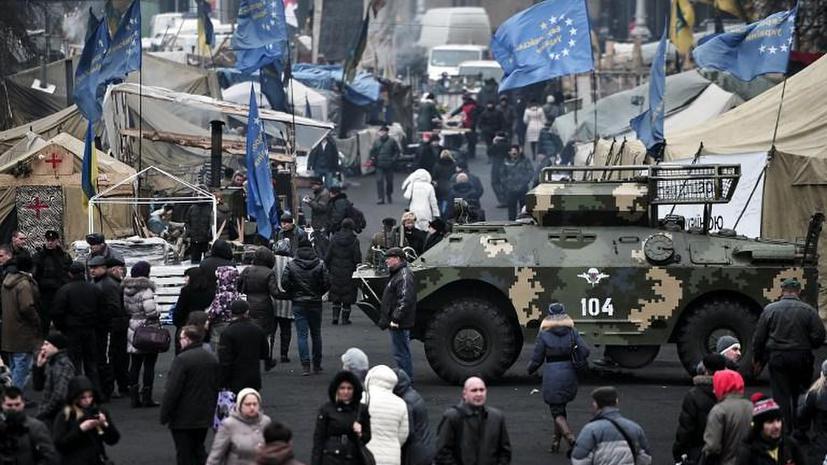 Для охраны американского посольства в Киеве на Украину направлены морские пехотинцы США