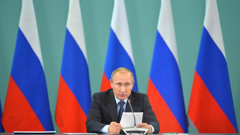 Владимир Путин: Все действия ВКС России в Сирии тщательно просчитаны