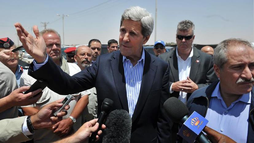 Джон Керри признал, что Башар Асад перехватил инициативу в войне
