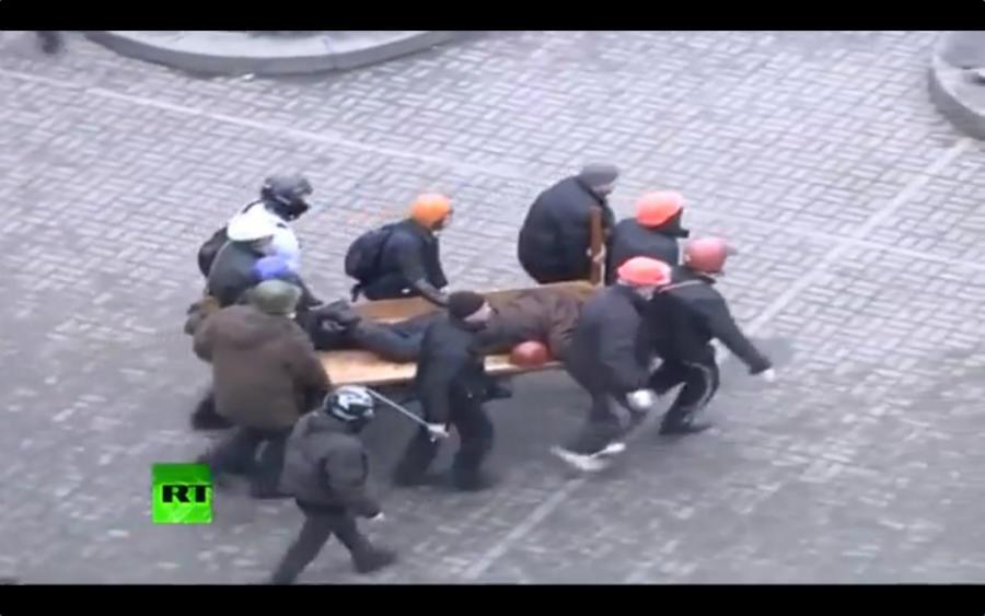 Беспорядки в Киеве - хроника событий