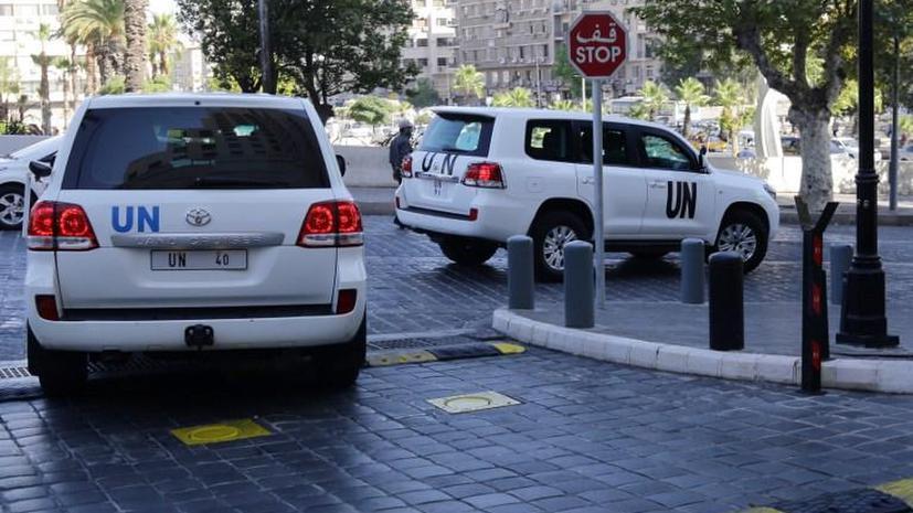 Эксперты ООН изучат факты применения химоружия в окрестностях Дамаска
