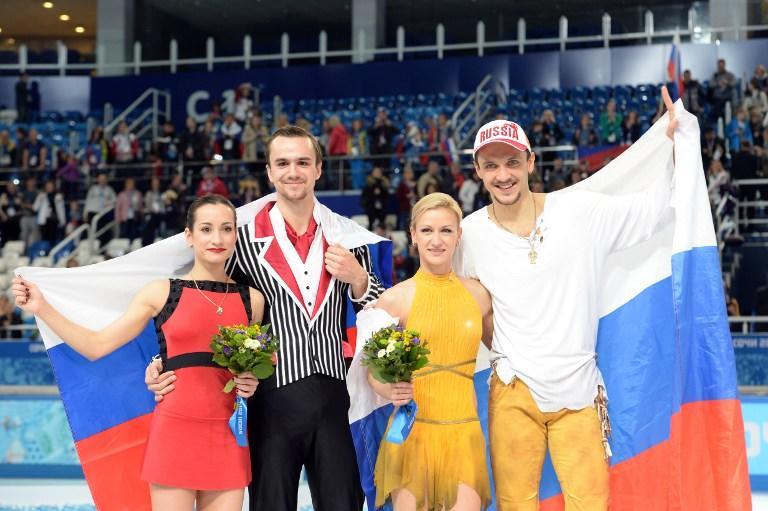 Российские фигуристы выиграли в Сочи золото и серебро