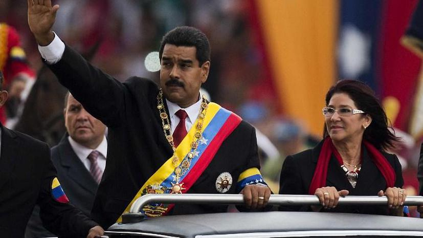 В Венесуэле прошла инаугурация Николаса Мадуро