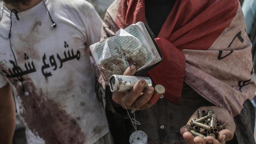 Исламисты атаковали своих противников на площади Тахрир, есть убитые
