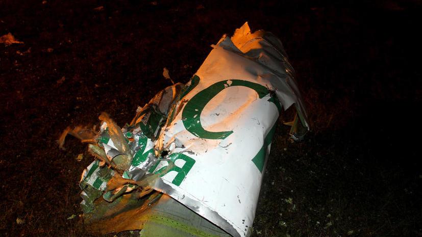 МАК: Экипажу самолета Boeing, разбившегося под Казанью, не удалось выполнить стандартный заход на посадку
