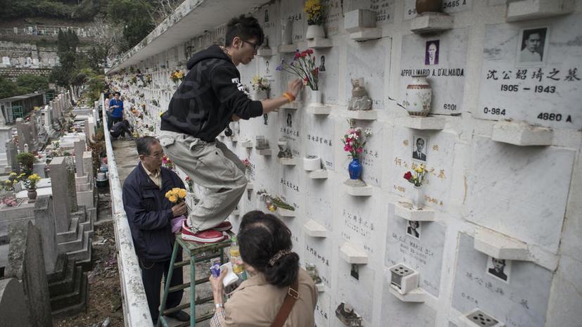 «Здесь может быть ваша могила»: оригинальная реклама китайского кладбища