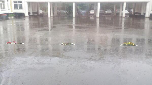 Майский ливень вызвал наводнение в Москве