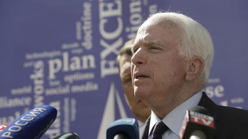 Джон Маккейн обрушился с критикой на Пентагон за провал программы по борьбе с  ИГ