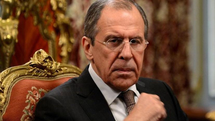 Сергей Лавров: Петру Порошенко важно, чтобы США не стали работать против Украины
