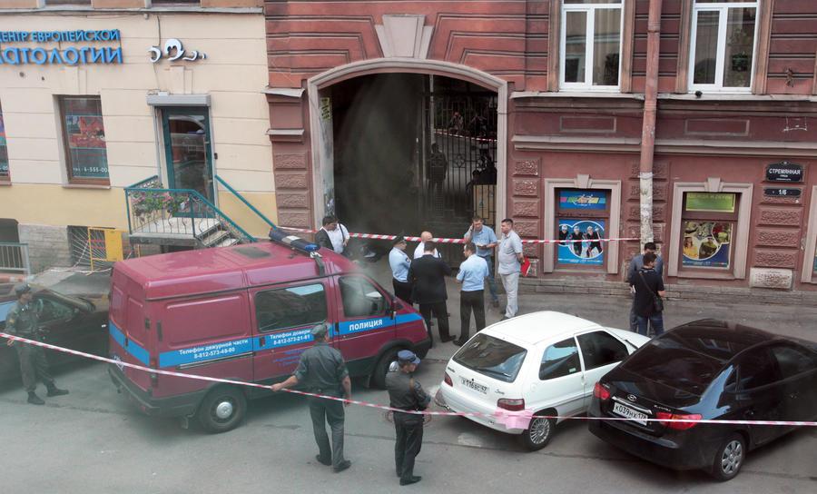 Виновником взрыва в Санкт-Петербурге оказался сам пострадавший студент