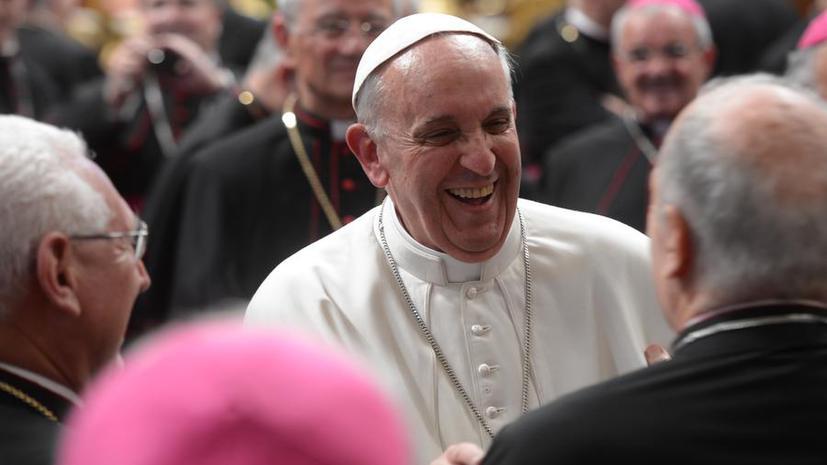 Папа Римский призвал мафию молиться о милости Божьей