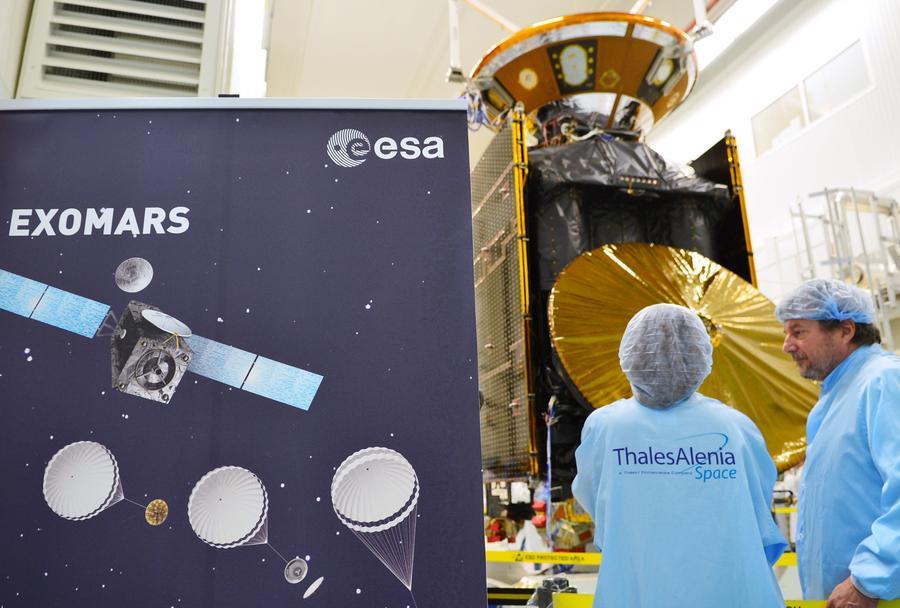 Первая в истории миссия для поиска жизни на Марсе отправится сегодня с Байконура