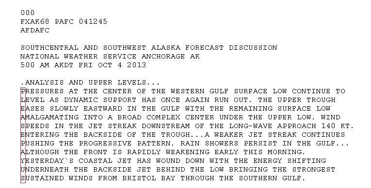 Метеорологи Аляски в прогнозе погоды зашифровали просьбу выплатить им зарплату