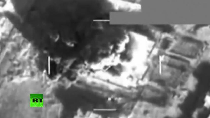 Результаты новых авиаударов авиации США в Сирии взорван завод убиты рабочие