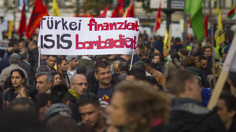 Британская газета проследила связь между властями Турции и «Исламским государством»