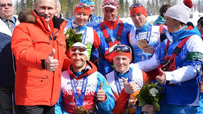 Сборная России установила мировой рекорд по числу выигранных медалей на зимних Паралимпиадах