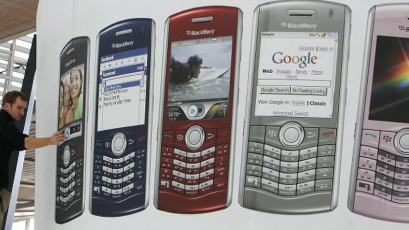 Акционер BlackBerry подал судебный иск против компании