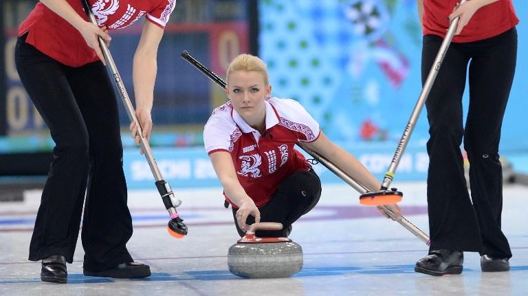 Женская сборная России по кёрлингу обыграла команду Дании в первом матче на Олимпиаде