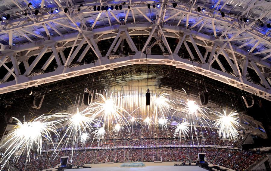 Торжественная церемония открытия XI Паралимпийских зимних игр завершилась в Сочи