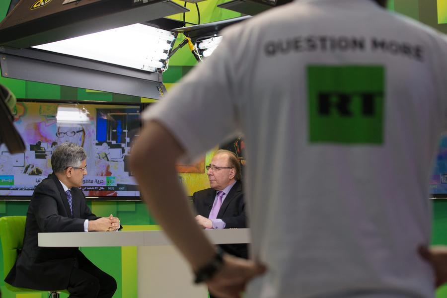 Бюджет телеканала RT сокращён на 10%