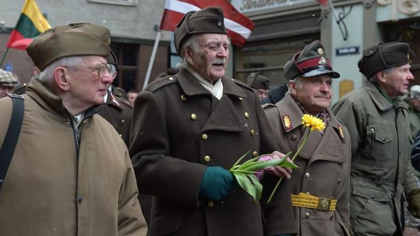 В Риге 1,5 тыс. человек прошли по улицам города в память о латышских легионерах SS