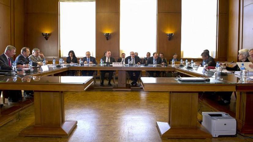 МИД РФ: На трёхсторонней встрече в Женеве не удалось определить участников будущих переговоров по Сирии