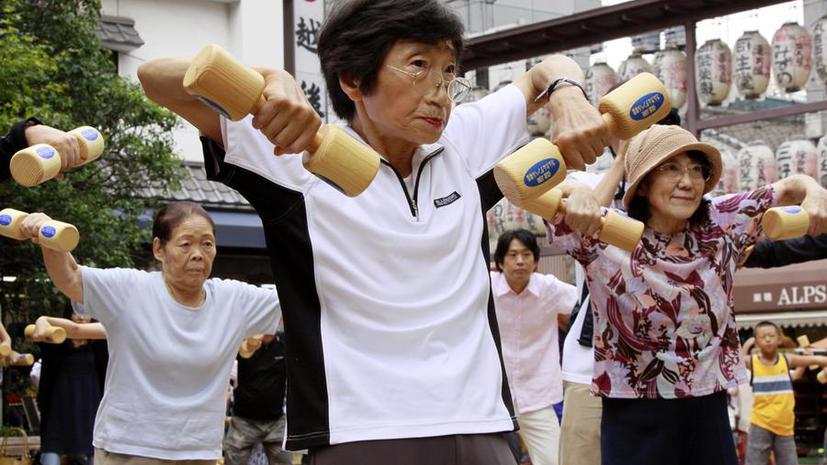 Новый рекорд: в Японии проживают более 50 тыс. человек старше 100 лет