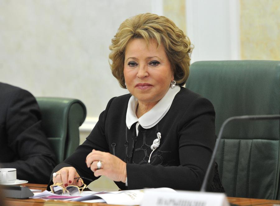 Валентина Матвиенко: Войны между Россией и Украиной не будет