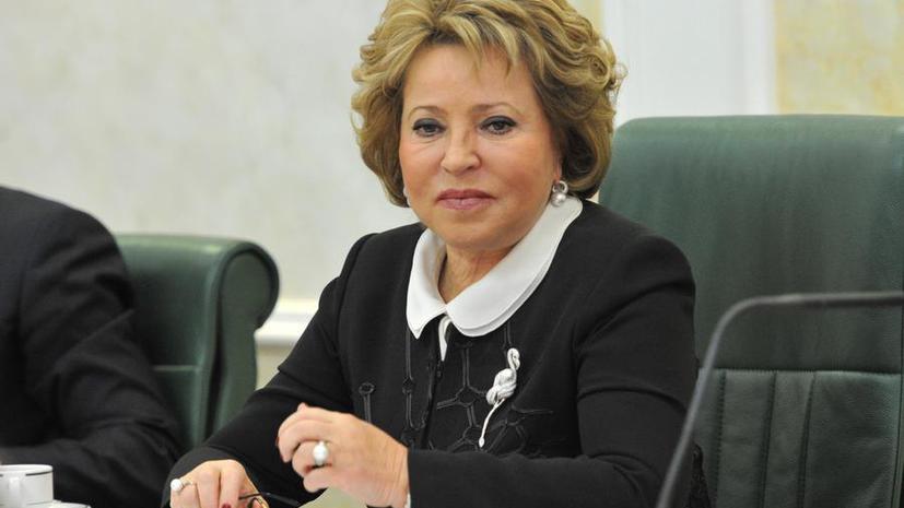 Валентина Матвиенко: Отмена закона о двуязычии на Украине является началом сепаратизма